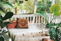 Outdoor Oasis / Inspiration for outdoor spaces
