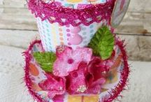 Party Ideas with Doodlebug / Birthday party ideas... featruing Petaloo Botanica flowers and Doodlebug Sugar Shoppe papers.