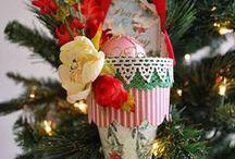 Holidays w/ Petaloo / Various Holiday projects featuring Petaloo flowers!