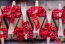 Red Polka Dots meets Kraftpapier / Junggesellinnenabschied (kurz JGA) mit selbstgemachtem Picknick, verpackt in Red Polka Dots und Kraftpapier