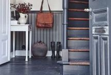 Mudroom and entry inspiration
