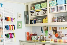 Sewing Rooms to die for.... / I would love a huge sewing room that is picture perfect & tidy....haha. Not going to happen. What sewing lady has a tidy sewing room??