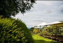 Canvas / Extra space for your wedding or event from our fantastic yurts, a quirky tent or a classic marquee.