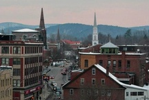 Downtown Brattleboro / Brattleboro dances on the edge of Vermont- an urban arts oasis nestled in the foothills, where you can find cows on parade, the Metropolitan Opera, and world-class aerial circus arts all living comfortably in a vibrant, historic downtown. http://www.brattleboro.com/