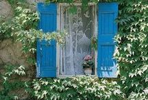 Windows and Doors / by Francesca Meazza(Passionedeco)