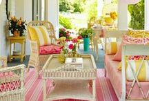 Front Porch Living / Front porches that make you want to live outside!
