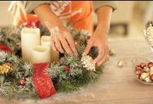 Holiday Decorating Tips / Getting your home ready for family, friends, and feasts? We've got holiday decorating tips that will add a little sparkle to your home during the most magical time of the year.
