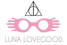 "luna lovegood / ""It keeps away the nargles"""