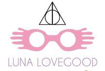 "luna lovegood / ""It keeps away the nargles"""