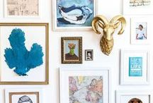 decorate   gallery wall / inspiration for your next gallery wall. okay, my next gallery wall.