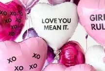 valentine's day / all things love for the festive valentine's day holiday.