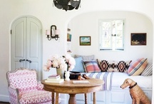 Interiors // LIVING / living rooms, family rooms, dens, nooks - all that stuff / by Emily Paben | Magnolia