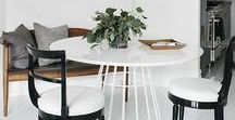 Dining Room Ideas / From small dining nooks to dining tables to casual built-in banquettes, here are some of the best dining room ideas.