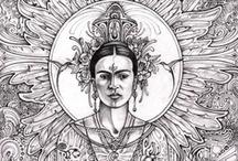 I Paint My Own Reality / ~Frida Kahlo / by Mu- Lissa