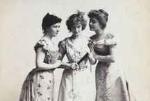 19th century | victorian era / 1830s to 1900s Victorian era fashion and clothing   / by ADORED VINTAGE