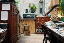 Dream Home~ Studio Workspace / by Merle Pace