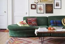 Living Room Inspiration / by Hilary Yoder