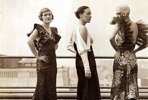 vintage fashion / 1930s / Vintage fashion from the 1930s