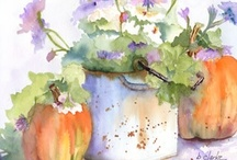 Water colors/&/pencils / by Janet Manchester