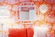 Pink / Images of pink interior design and home decor.  / by Lonny Magazine