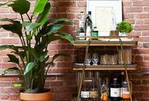 Home Bar Ideas / From bar carts to stools, here are the most stylish decorating ideas for your home bar.