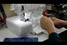 Janome 1200D Serger - Coverlock / Serger I own. <3 / by Char Kendall