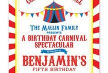 B & J's Carnival Birthday Party
