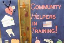 ECED ~ Community Helper Unit / by Hannah Dailey