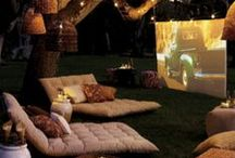 Outdoor Movie Party #SundayBunDay / Thinking about hosting an outdoor movie party? From delicious menu ideas and decor to fun activities and the perfect playlist, it's all right here! https://www.facebook.com/rudisorganicbakery/app_640006796075048 Mobile: http://www.rudisbakery.com/sundaybunday/