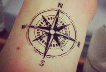 Compass Tattoos / by Rachel