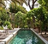 Swimming Pool Ideas / Gorgeous photos to inspire your swimming pool and backyard decorating ideas!
