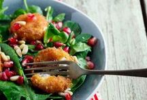Scrumptious Salads / A collection of salads we can't get enough of!