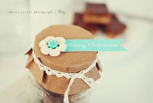 little handmade gifts / little things good for 'thinking of you' or vt gifts.