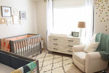 nursery and kid rooms... / by Emma Snow