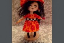 Clothmatters- My Work / Collection of my art dolls / by Connie McBride Johnson