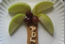 * COOKING Fun with Kids / Cooking, making snacks, and creative food art with the kiddos. / by Mary Catherine @ Fun-A-Day!