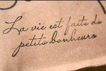 words / by dnique milés