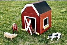 Theme | FARM / Kids' activities, crafts, and ideas related to a kindergarten or preschool farm theme.