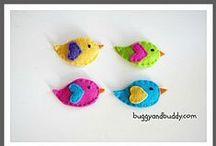 Theme | BIRDS / Activities for a kindergarten or preschool bird theme.