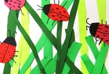 Theme | INSECTS / Ideas and activities for a kindergarten or preschool insect theme.