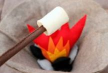 Theme | CAMPING / Kids' activities for a kindergarten or preschool camping theme.