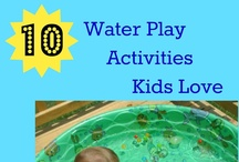 School | THEMED DAYS / Ideas and activities for special preschool themed days - water day, mud day, pajama day, etc.