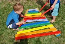 * MUSIC & DANCE for Kiddos / Fun kids' activities revolving around music