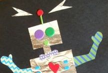 Theme | MR. ROBOTO / Activities for a preschool robot theme (would be appropriate for early elementary too)
