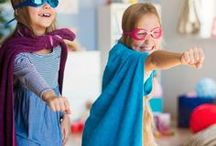 * PRETEND PLAY & DRESS UP / Ideas for getting the kids to use their imaginations!  Dress up and pretend play galore.