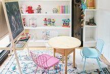 Play room / Qualche idea per arredare e ottimizzare gli spazi nella stanza dei giochi per i vostri bambini