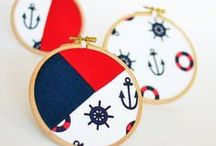 Anchors Aweigh - ArtFire / Nautical Treasures of Ship-shape and Bristol fashion. Vis Per Mare. / by Artfire.com