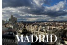 "Madrid / Madrid. The vibrant Spanish capital city filled with beautiful buildings, narrow streets in the historic center, museums, tapas, history and pride. ""¡De Madrid al cielo!"" / by El Boqueron Viajero Travel Blog"