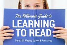 The Ultimate Guide to Learning to Read / Emergent literacy activities and articles pertaining to reading readiness in early childhood education. Phonological awareness, book awareness, oral language skills, alphabetic principle, etc.