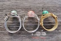 Wrap it up! - Wire Wrapped Jewelry on ArtFire / Rings, bracelets, necklaces and more! Find beautiful and original wire wrapped jewelry from a variety of ArtFire shops. Support handmade jewelry.